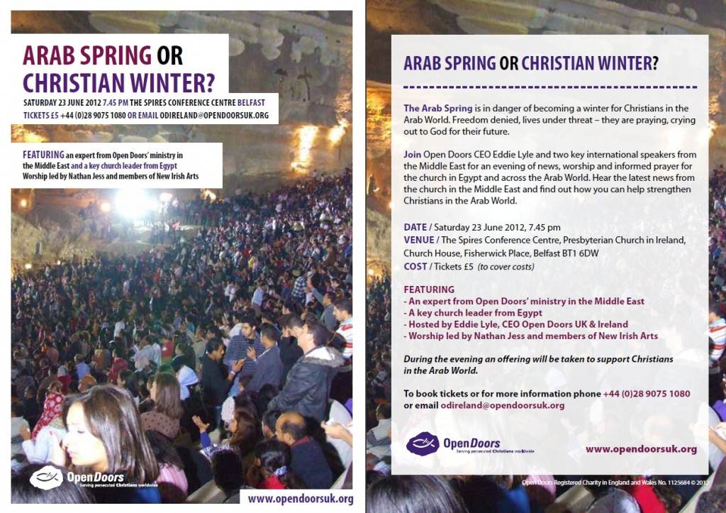 Arab Spring or Christian Winter