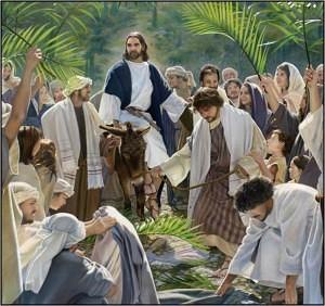 Palm Sunday - Jesus