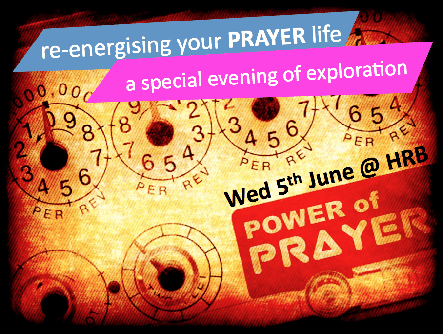 Re-energise your prayer life
