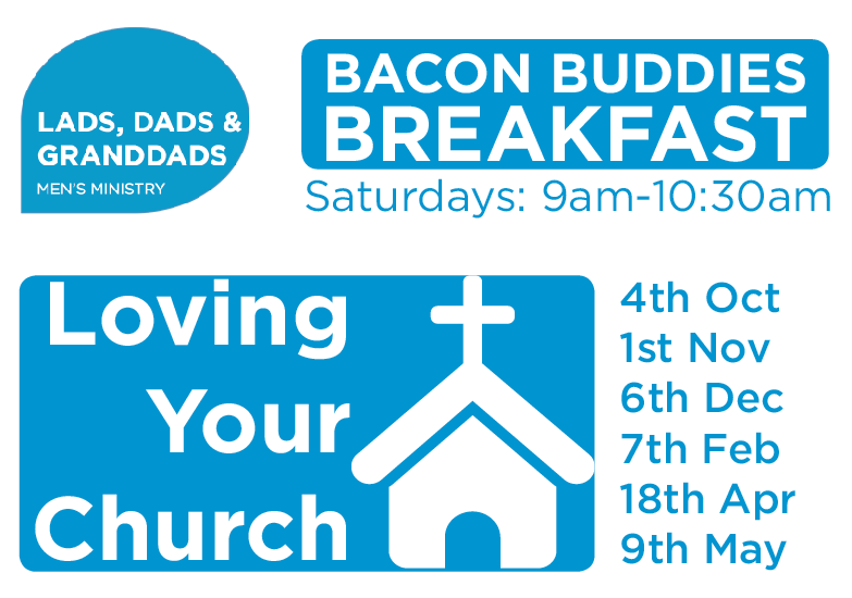 Mens Breakfast, loving your church, Hamilton road Baptist Church