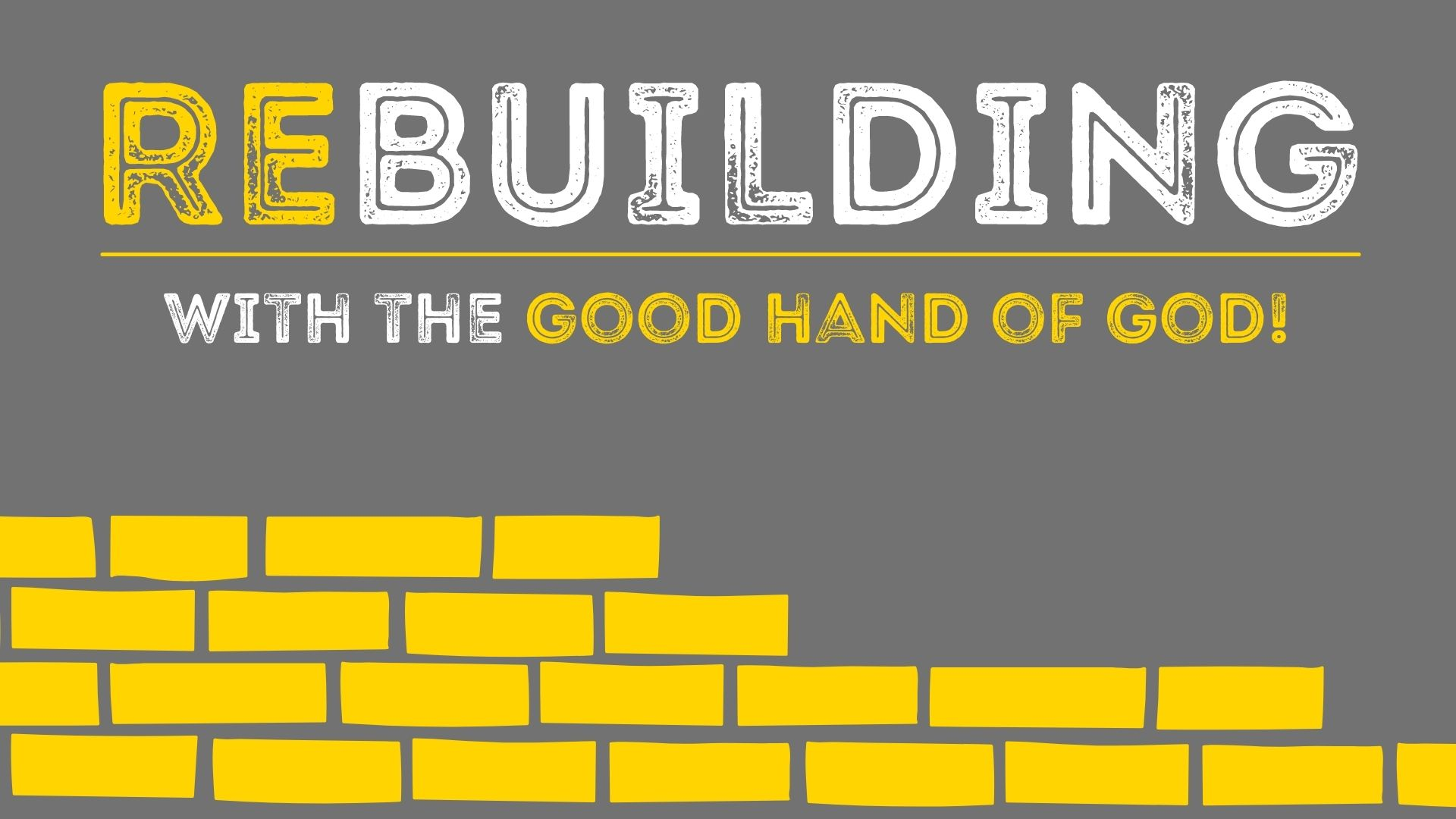 Rebuilding the People of God with the Word of God